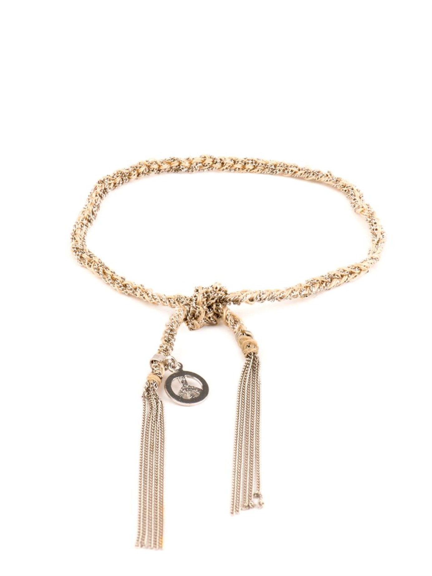 Carolina Bucci 18kt gold 9 Strand Lazy Lucky bracelet - Metallic
