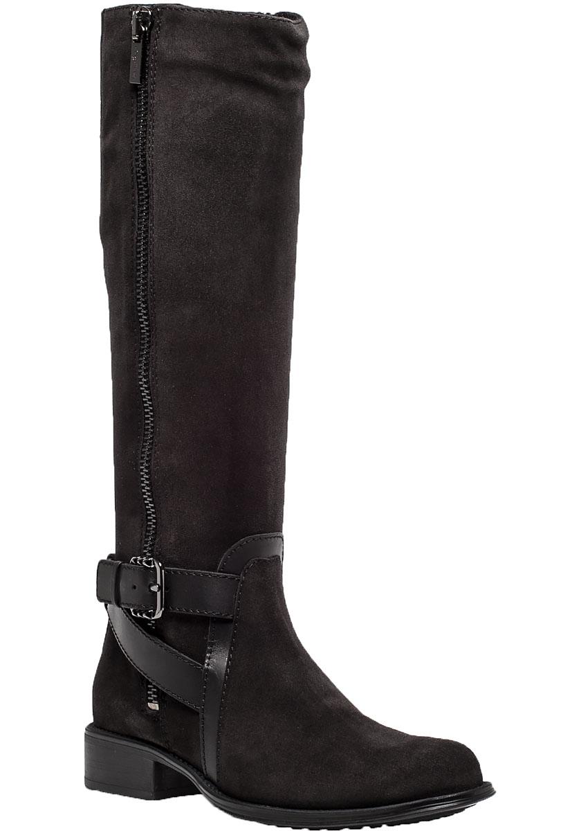 aquatalia uriale graphite suede boot in gray lyst