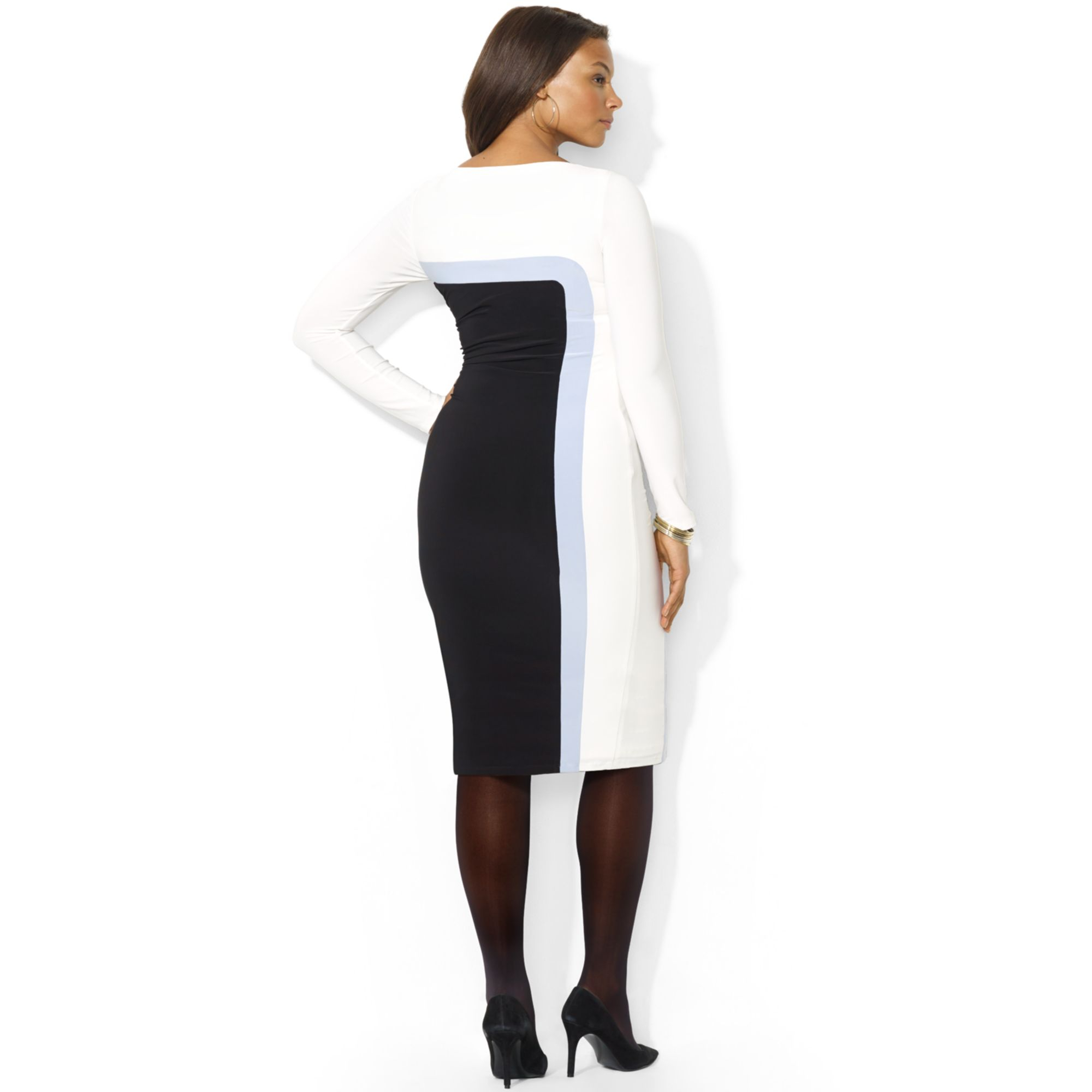 Size 0 white dress ralph