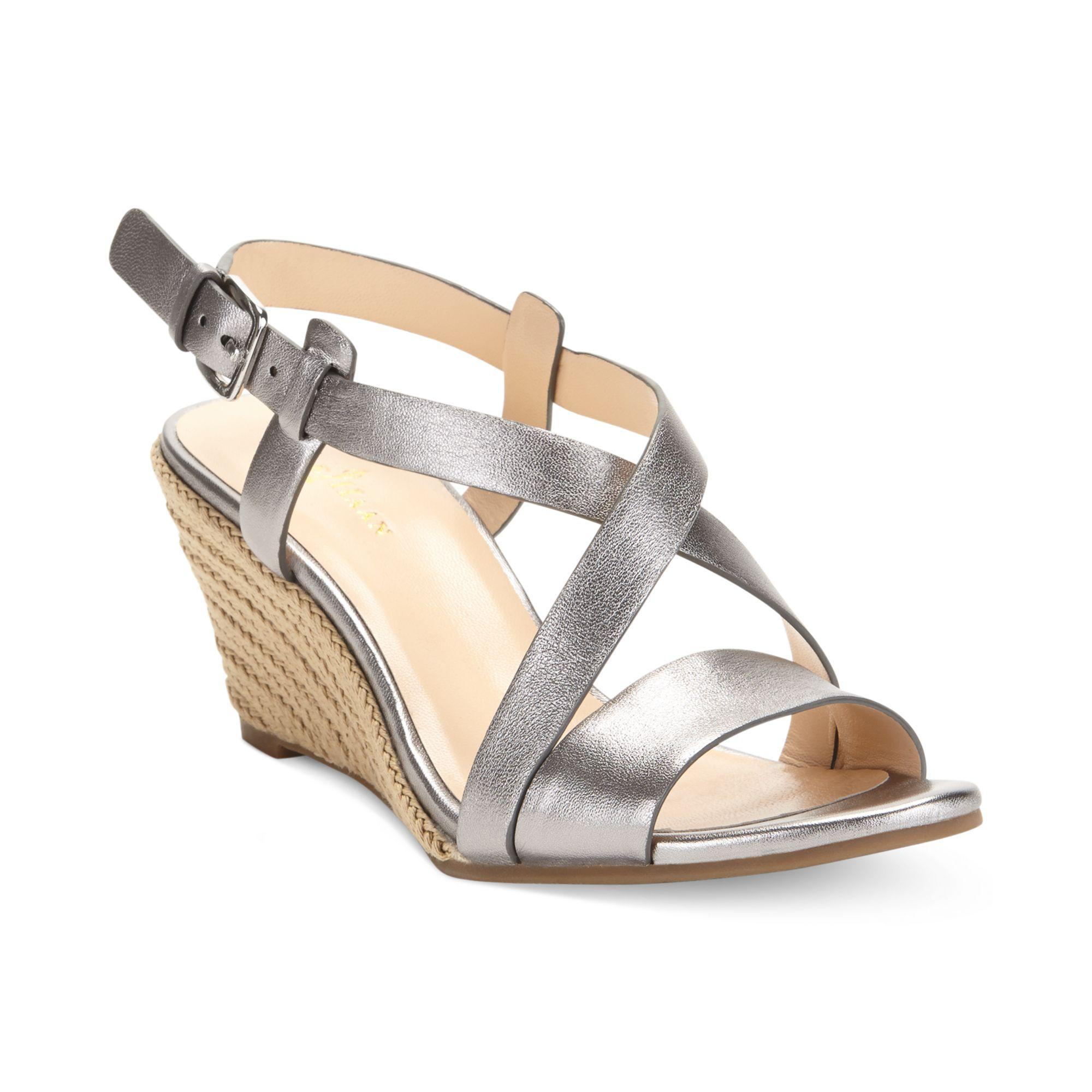 Wonderful Cole Haan Women39S Boardwalk Thong Sandals In Brown Sequoia Metallic