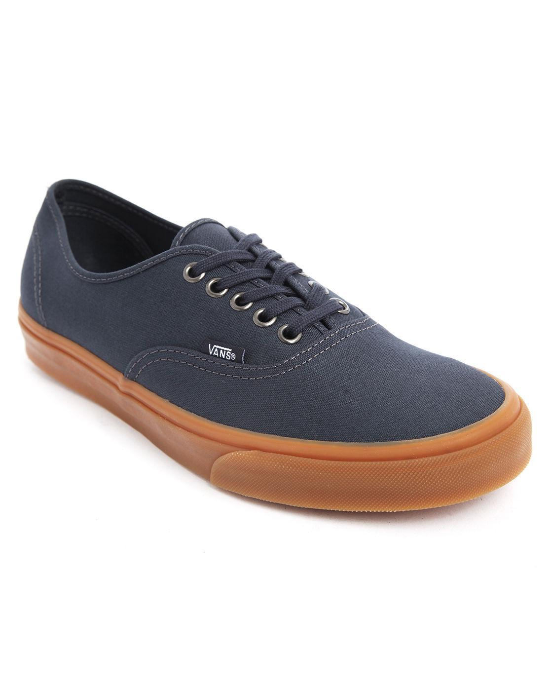 Vans Dark Blue Gum Sole