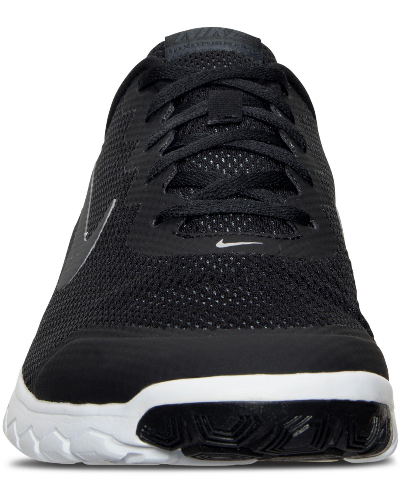 Lyst - Nike Men s Flex Experience Run 4 Wide Width Running Sneakers ... acd1adee1
