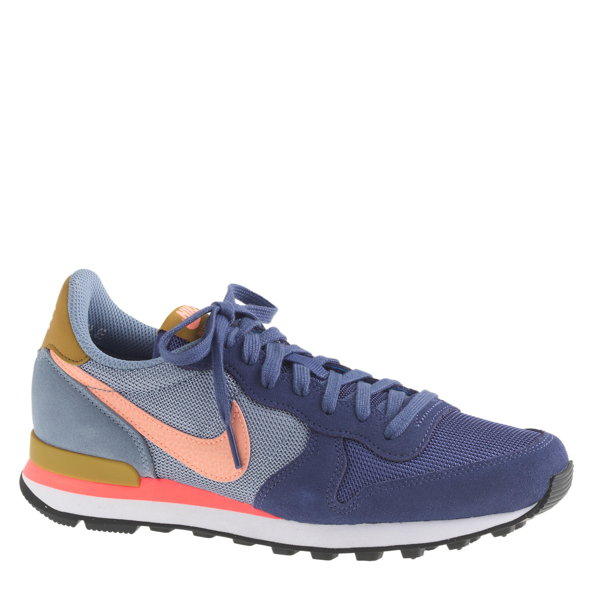 big sale d51a1 6735d ... womens nike internationalist blue ...