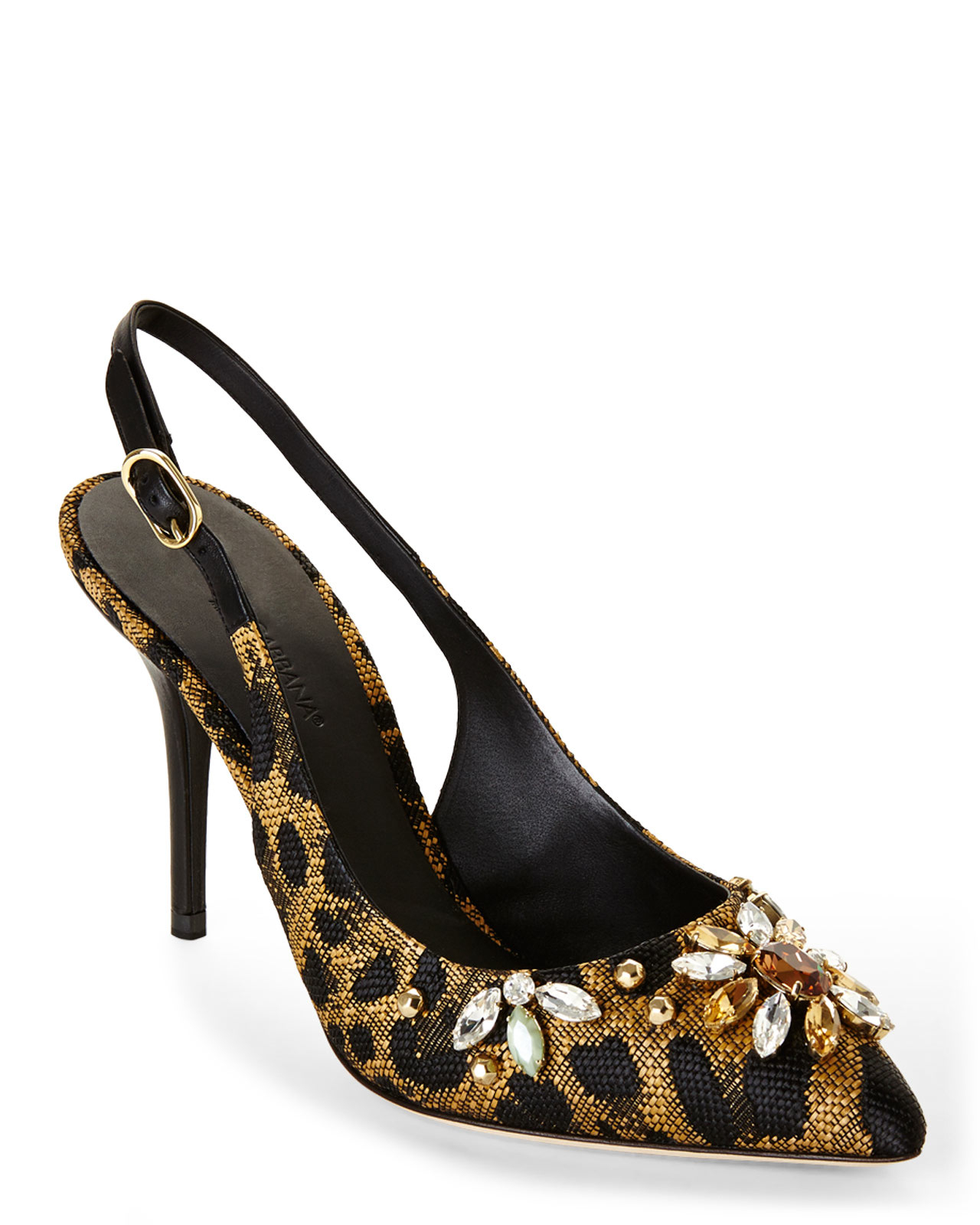 Dolce & Gabbana Animal Print Slingback Pumps pay with paypal cheap online popular cheap price discount from china I1Vfyn0Gj