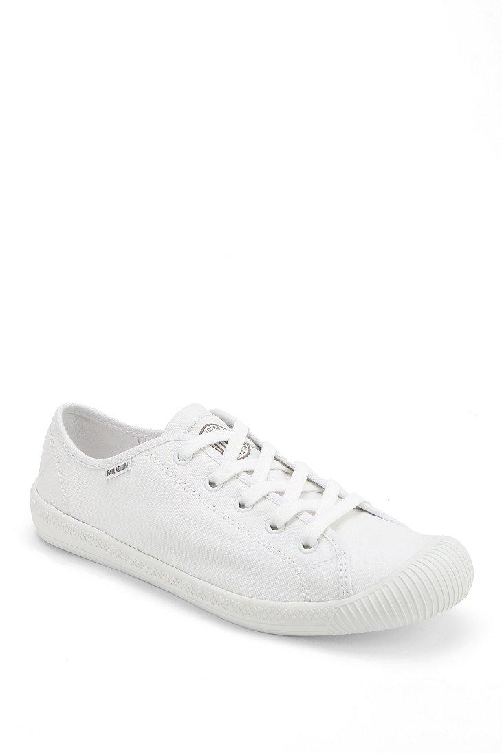 604de04e28 Palladium Flex Laceup Sneaker in White - Lyst