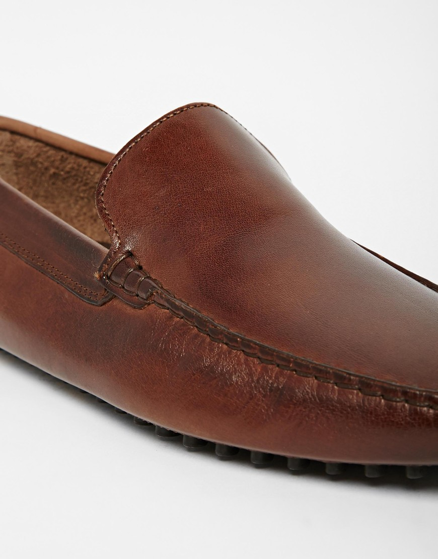 John Lobb Shoes >> Lyst - Aldo Brilicien Leather Driving Shoes in Brown for Men