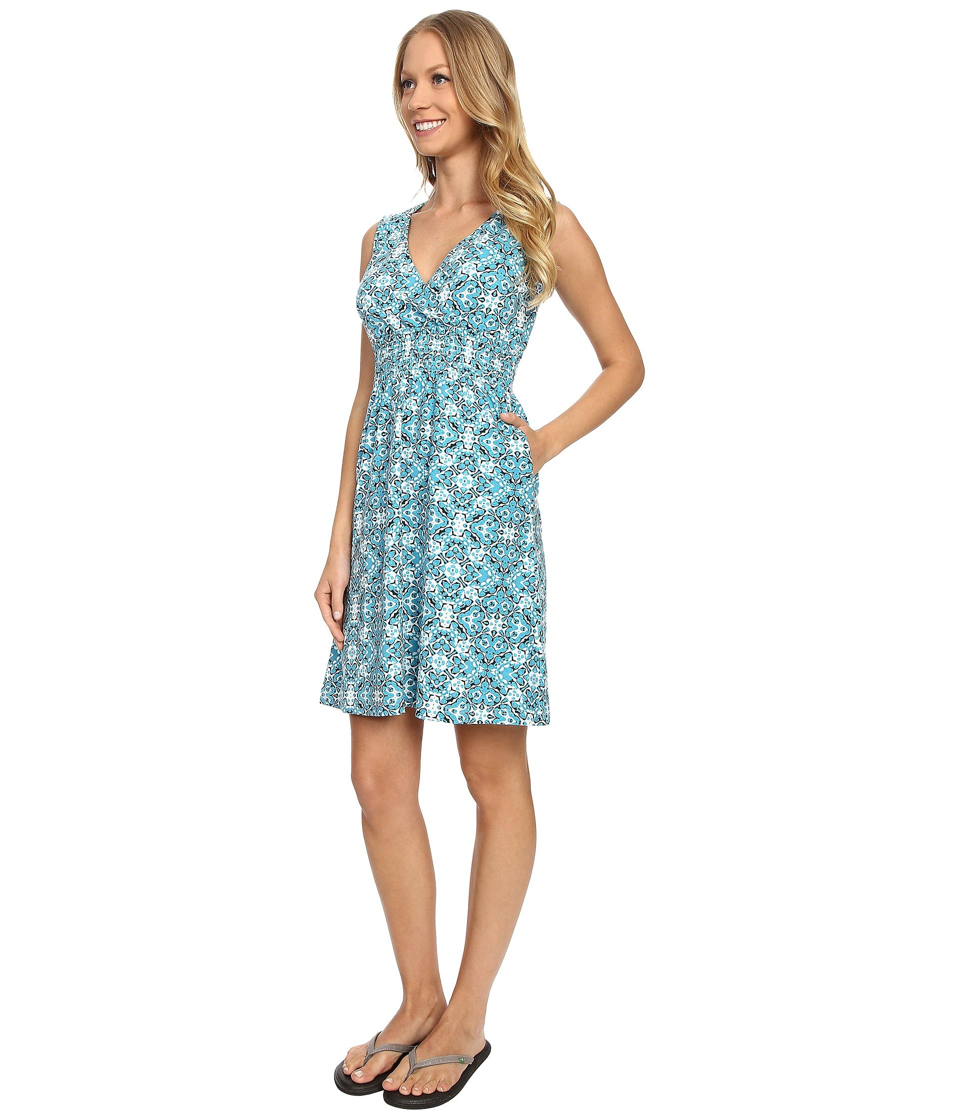 Lyst - Aventura Clothing Talisa Dress in Blue