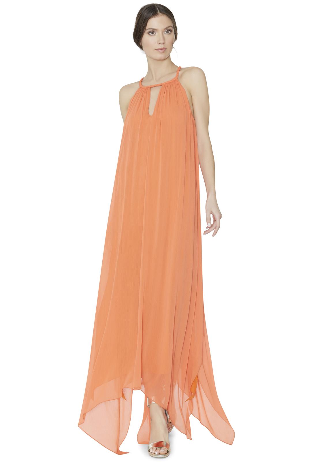 f46779d7624 Turmec » alice and olivia triss sleeveless maxi dress with leather trim