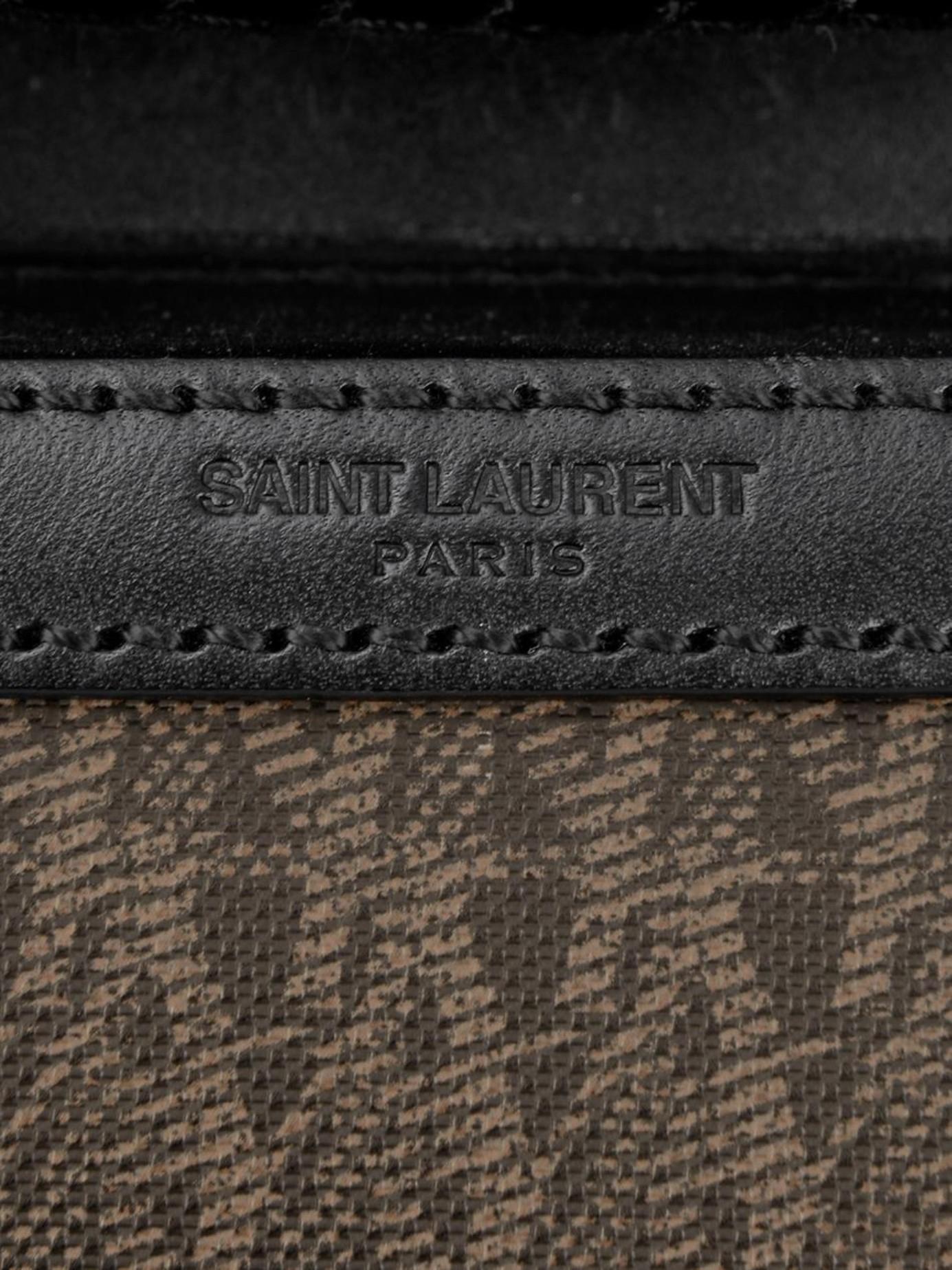 ostrich prada sneakers - Saint laurent Monogram Travel Trolley Suitcase in Black for Men ...