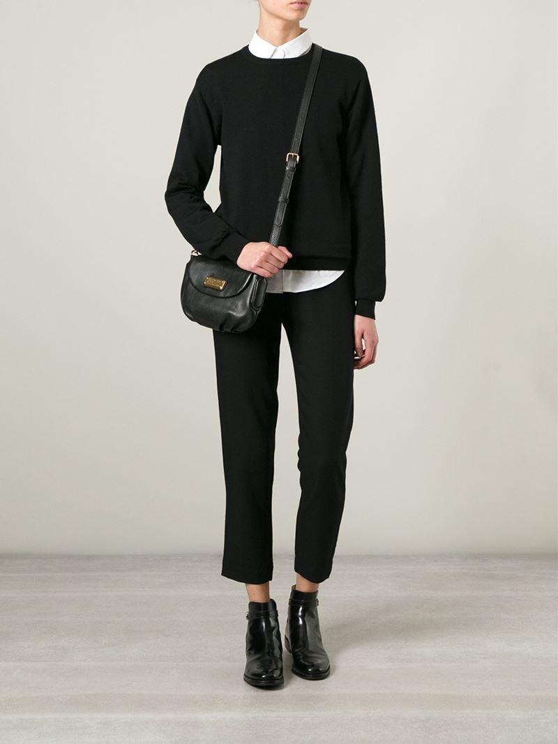 19e359bd9cc9 Lyst - Marc By Marc Jacobs  new Q Flap Percy  Crossbody Bag in Black