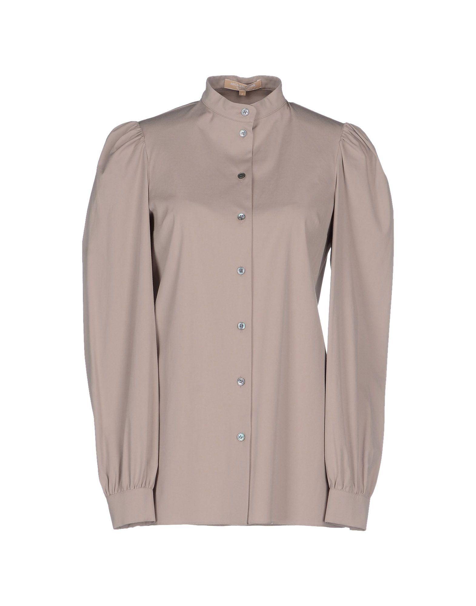 michael kors shirt in gray lyst. Black Bedroom Furniture Sets. Home Design Ideas