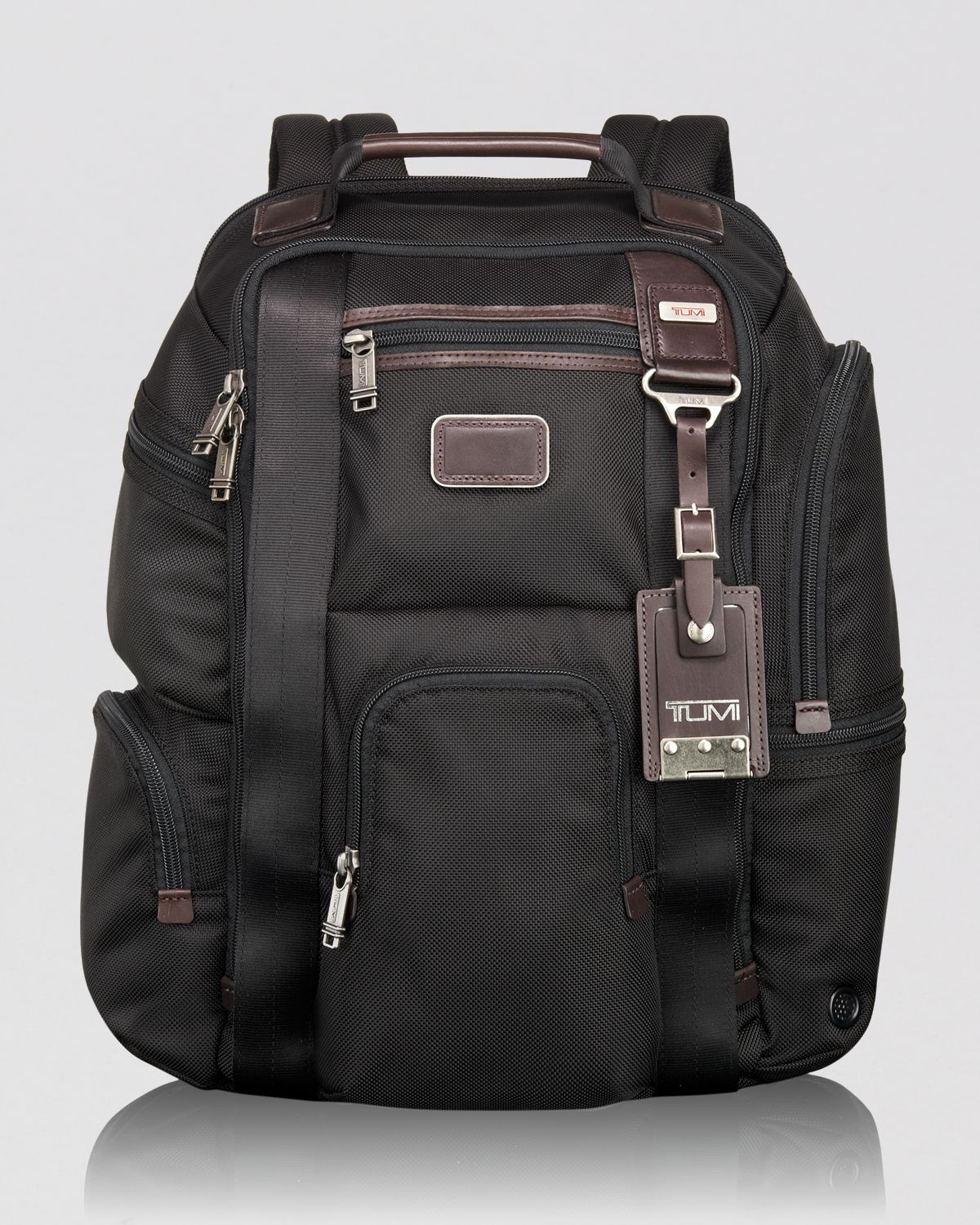 Lyst Tumi Alpha Bravo Dover Leather Backpack In Brown