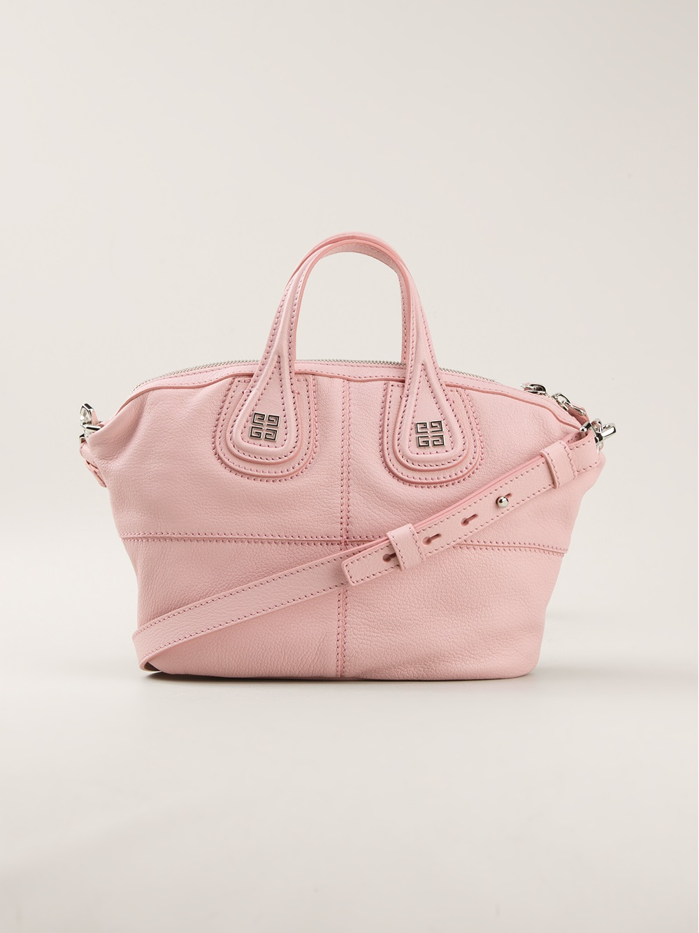 7b3075a7cb82 Lyst - Givenchy Nightingale Mini Tote Bag in Pink