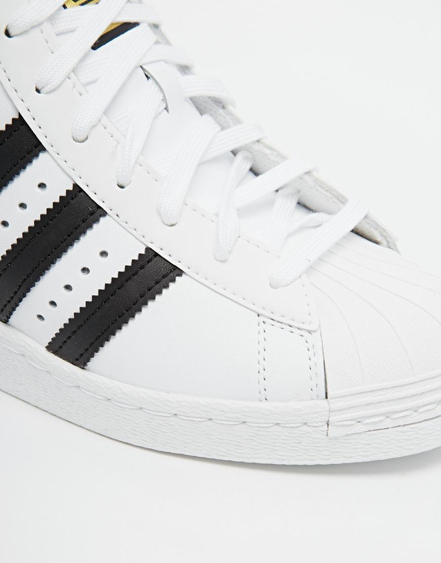 adidas originals superstar concealed wedge high top trainers