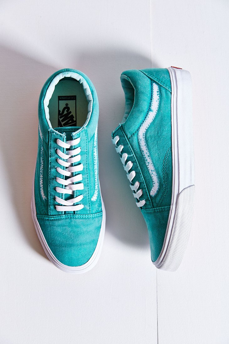 89973924cc Lyst - Vans California Old Skool Sunfade Reissue Sneaker in Green