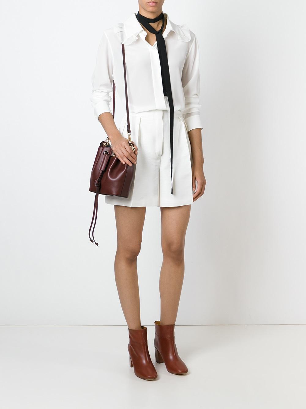 chloe handbags sale online - small gala bucket bag in smooth calfskin