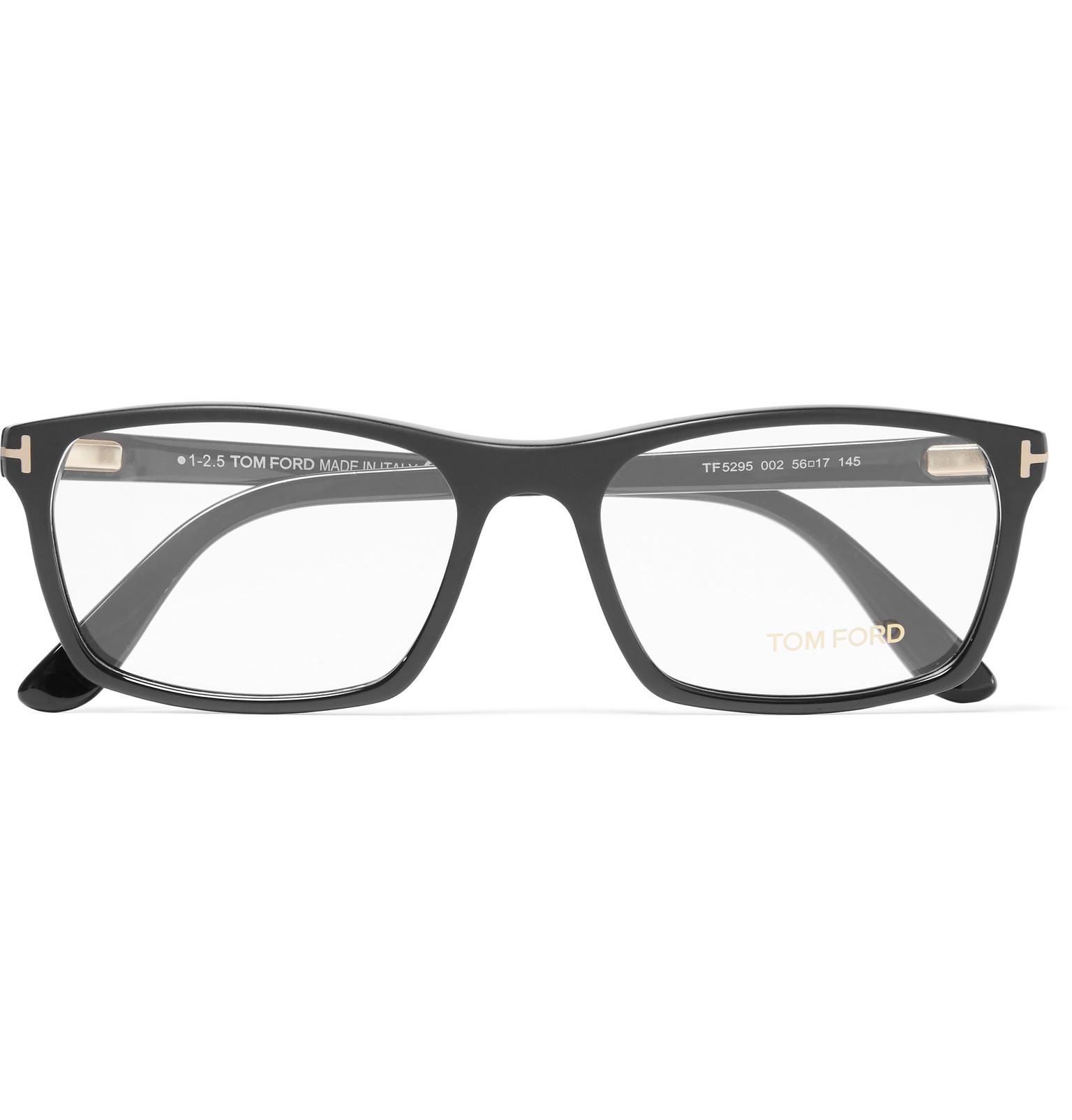 Tom ford Square-frame Matte-acetate Optical Glasses in ...