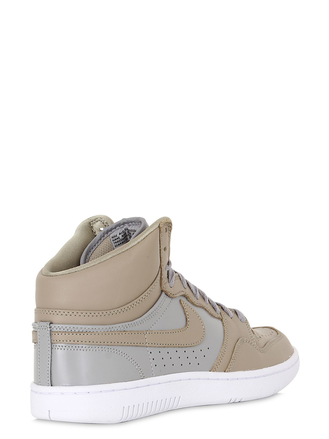 Lyst - Nike Undercover Court Force High Top Sneakers in ...