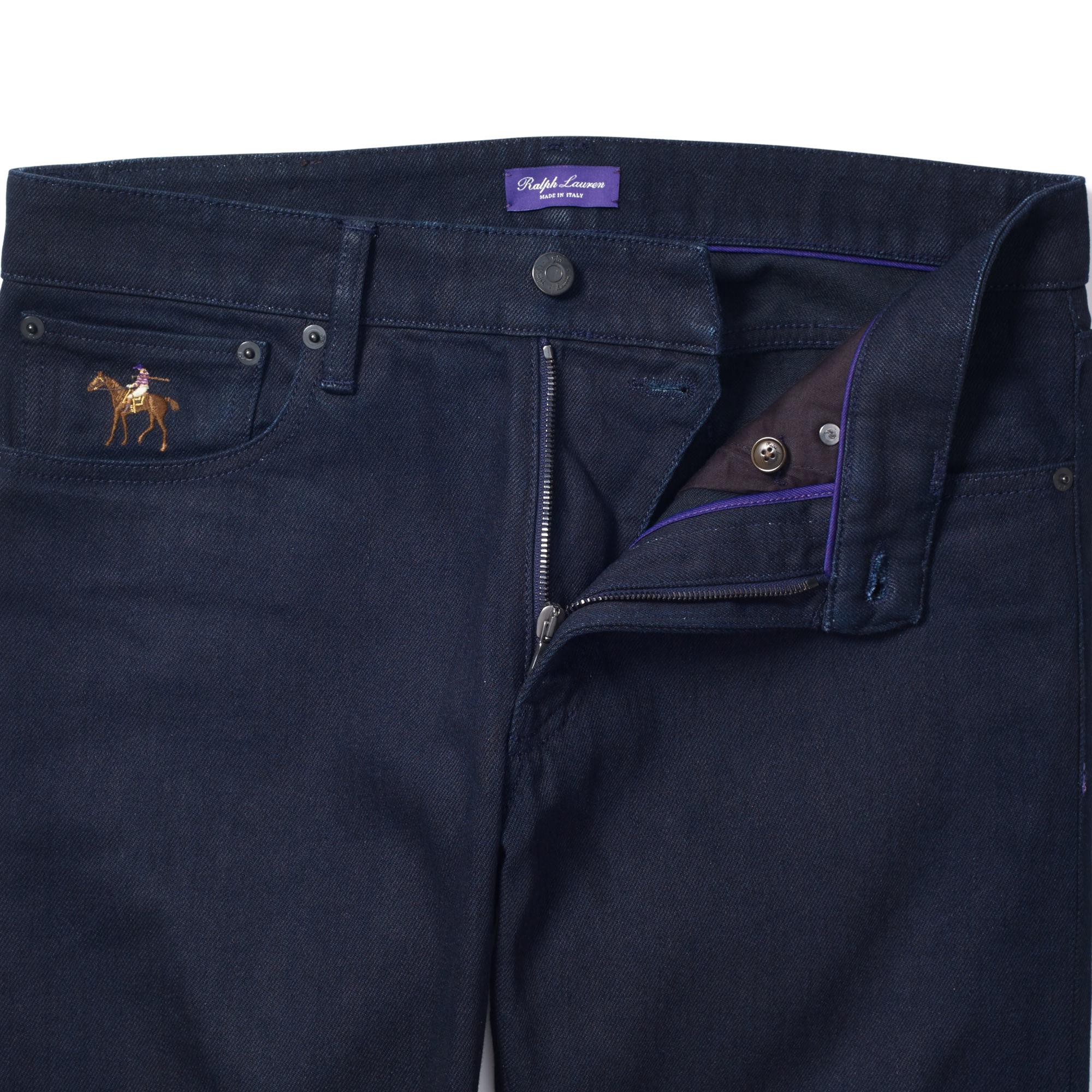 ab65cf365 Ralph Lauren Purple Label Slim-fit Stretch Jean in Blue for Men - Lyst