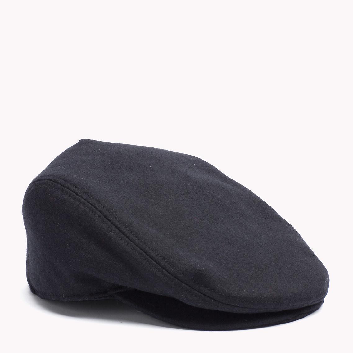 514f25e230f25 Tommy Hilfiger Wool Blend Cap in Black for Men - Lyst