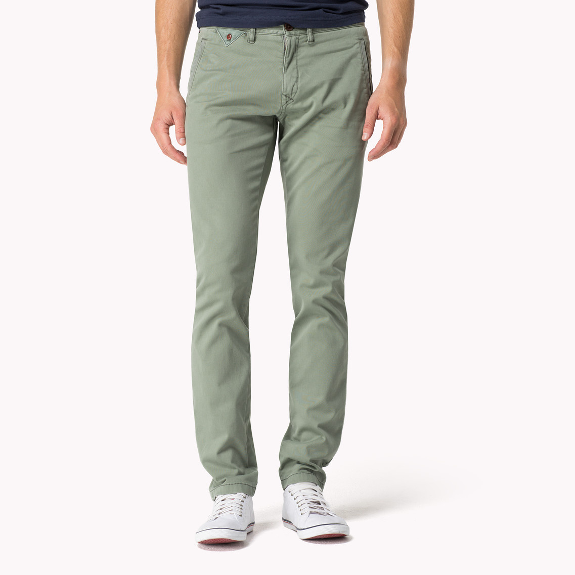 ce14e50fd Tommy Hilfiger Ferry Slim Fit Chino in Green for Men - Lyst