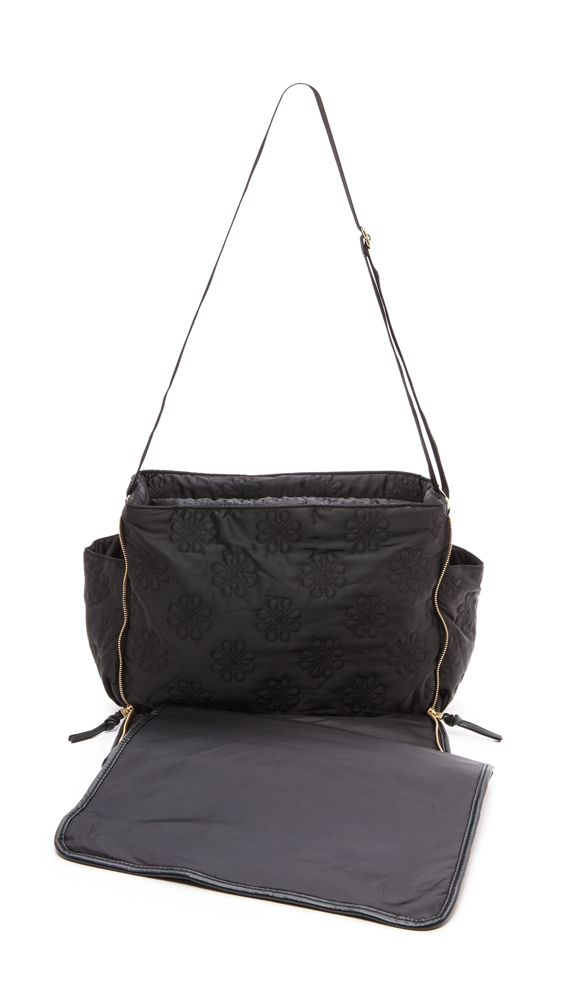 lyst day birger et mikkelsen day gweneth sign baby bag black in black. Black Bedroom Furniture Sets. Home Design Ideas