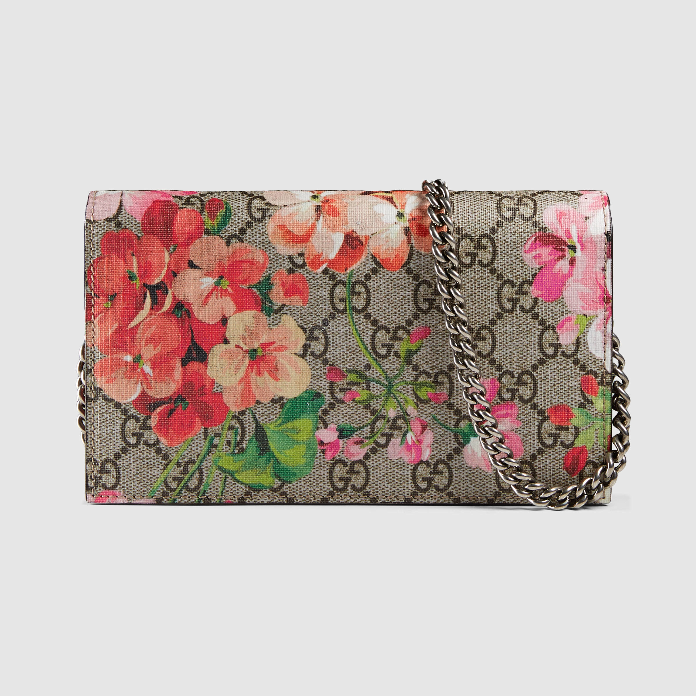 3bdc7cabb8f Gucci Gg Blooms Wallet On Chain - Best Photo Wallet Justiceforkenny.Org