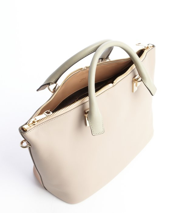 Chlo¨¦ Rope and Beige Leather Baylee Convertible Tote in Beige | Lyst