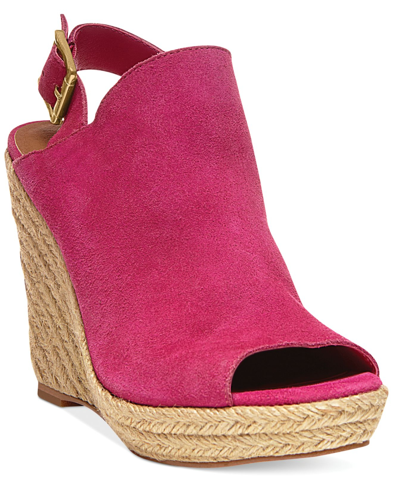 322f24983eac Lyst - Steve Madden Women S Corizon Platform Wedge Sandals in Pink