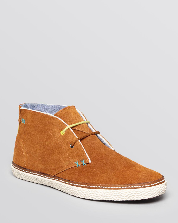 ee4956896de315 Lyst - Ted Baker Abdon 2 Espadrille Chukka Boots in Orange for Men
