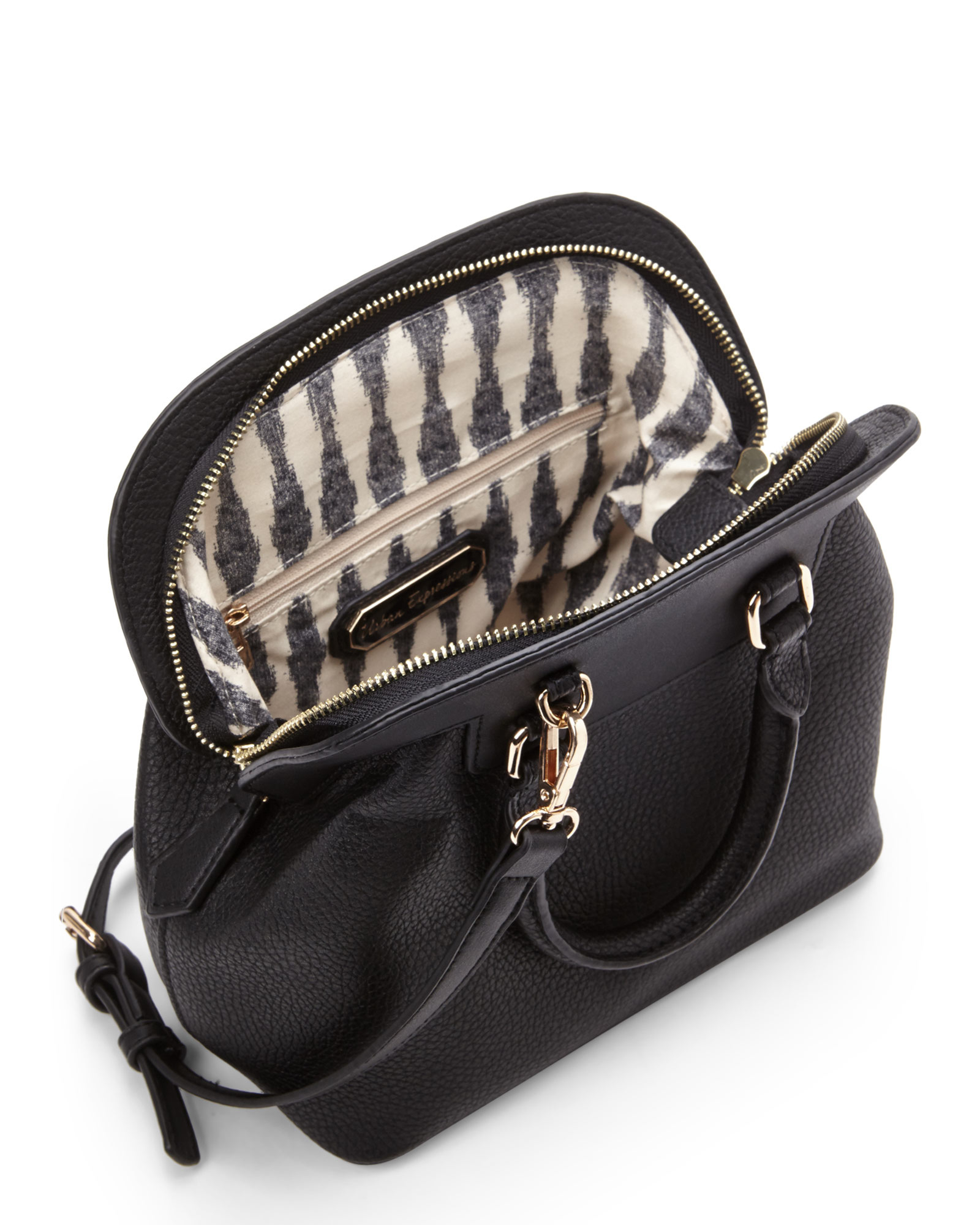 b0e7ccdfe9 Lyst - Urban Expressions Black Camerla Mini Top Handle Bag in Black