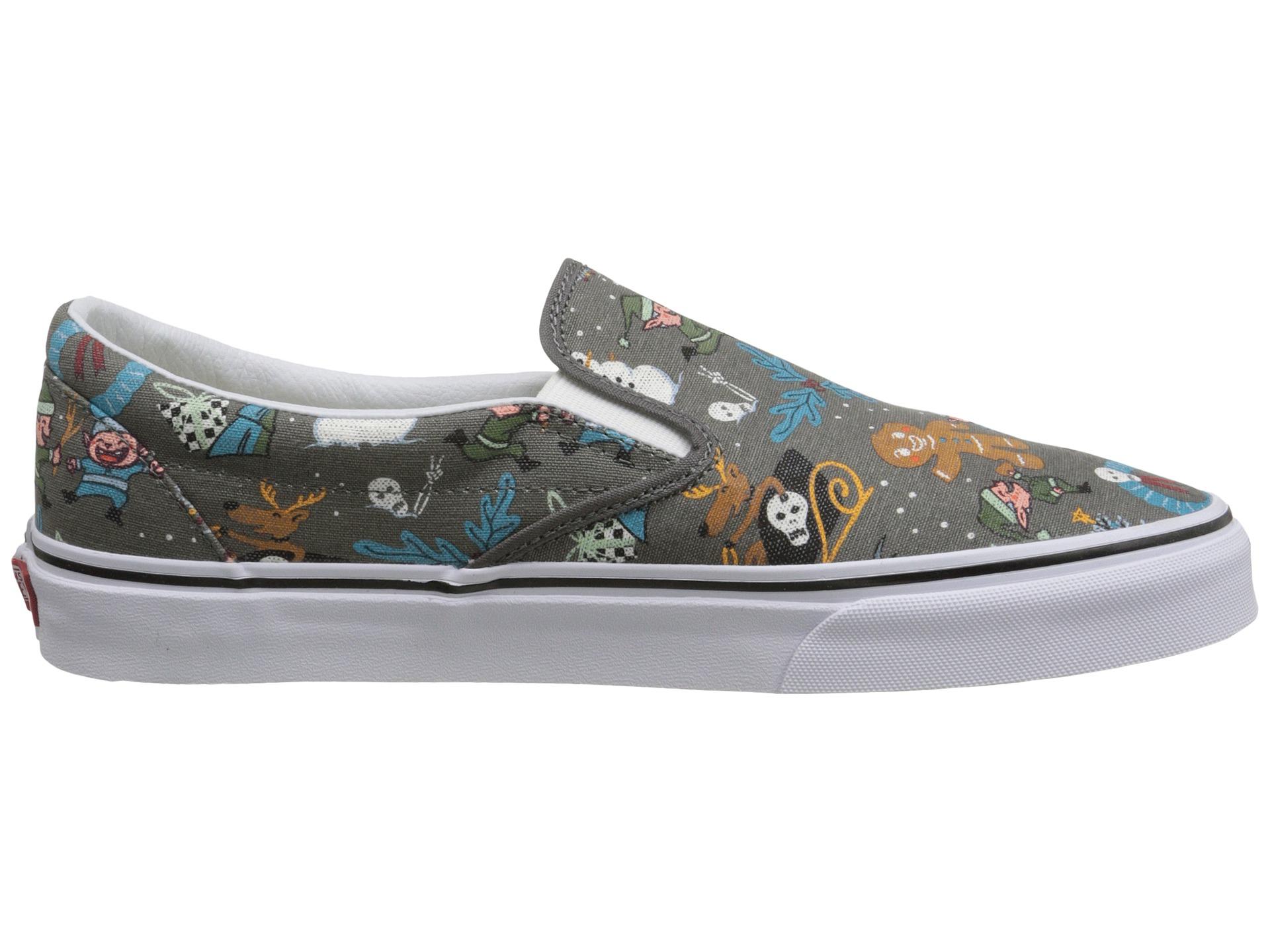 Lyst - Vans Classic Slip-on™ in Gray for Men deae654c4