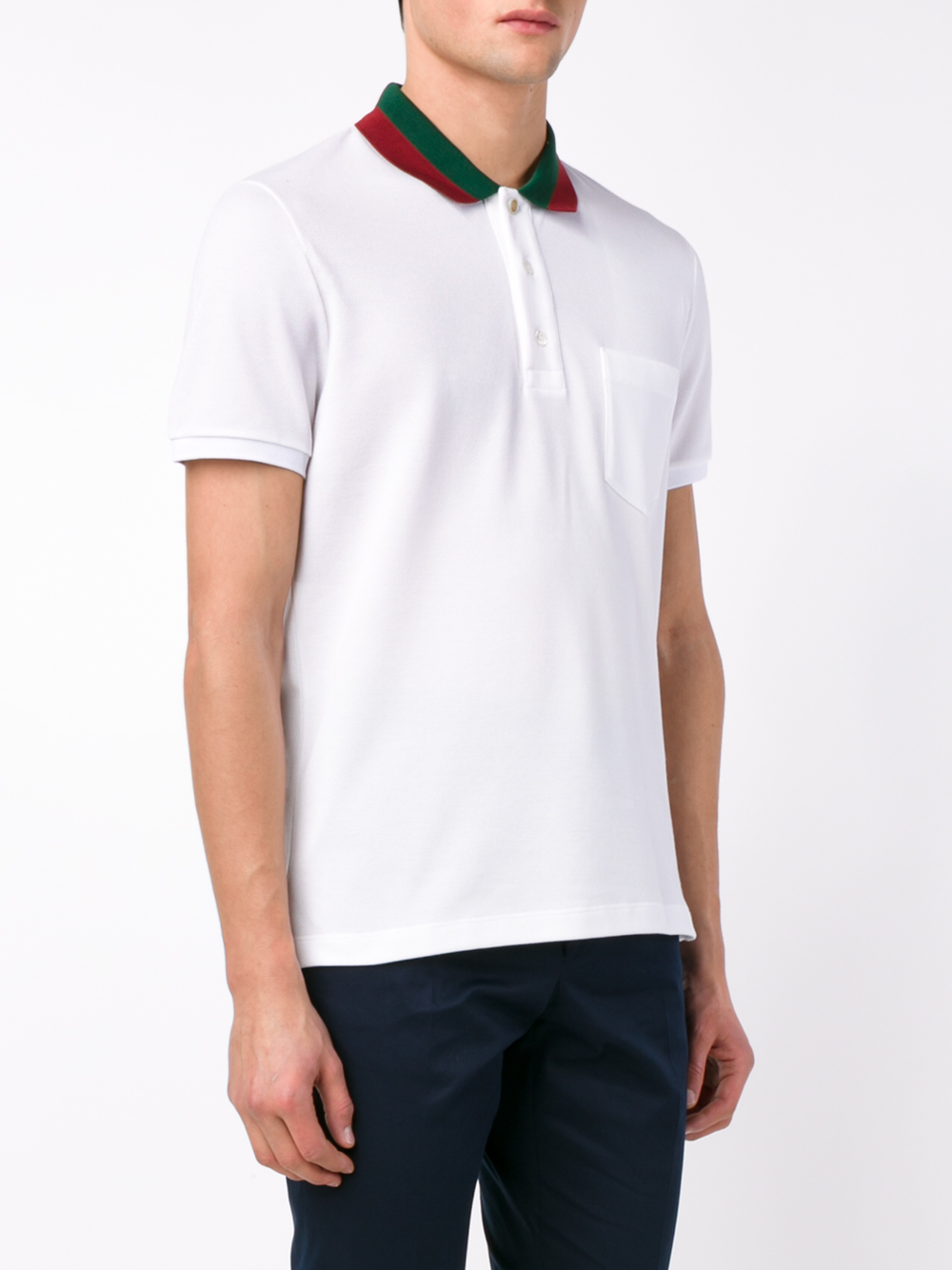 a99a5e4f4679 White Gucci Polo Shirts