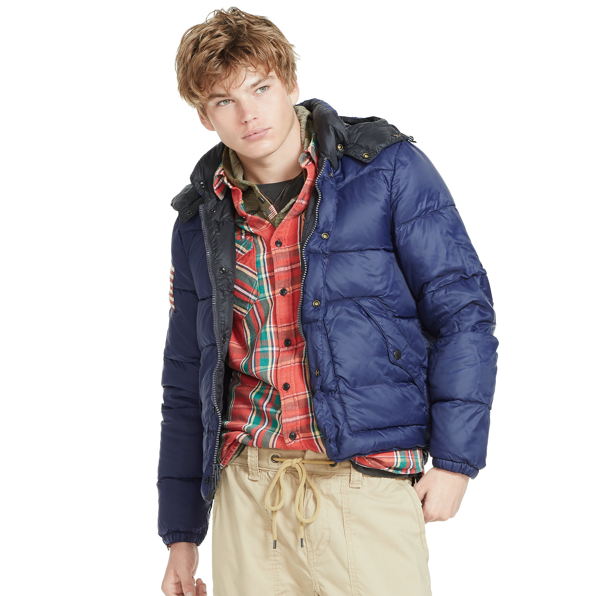 0b444d58c3e Lyst - Denim   Supply Ralph Lauren Quilted Ripstop Down Jacket in ...