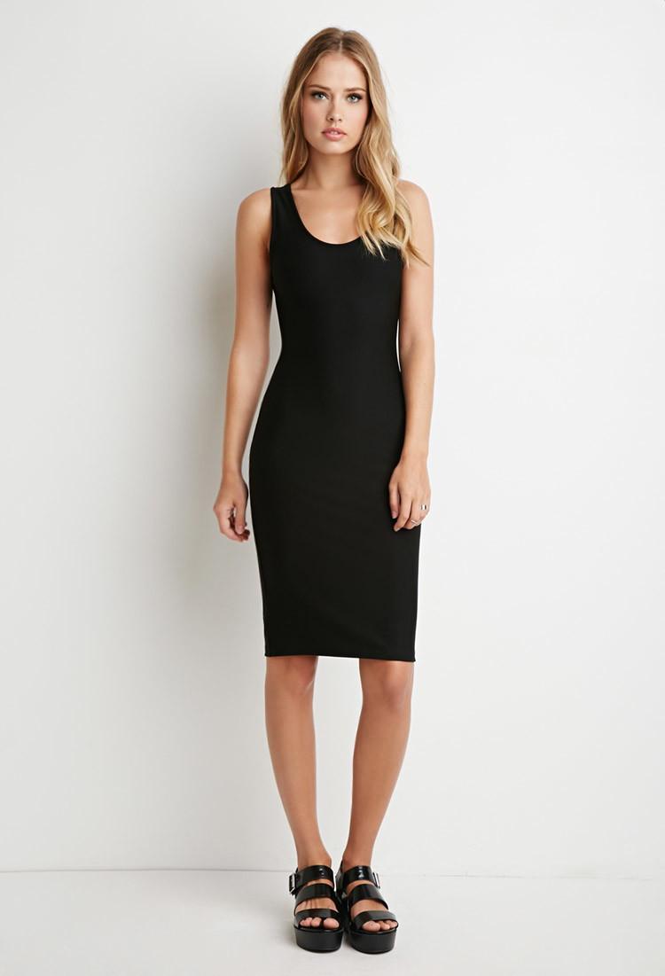 Jumia with black bodycon dress knee length for a