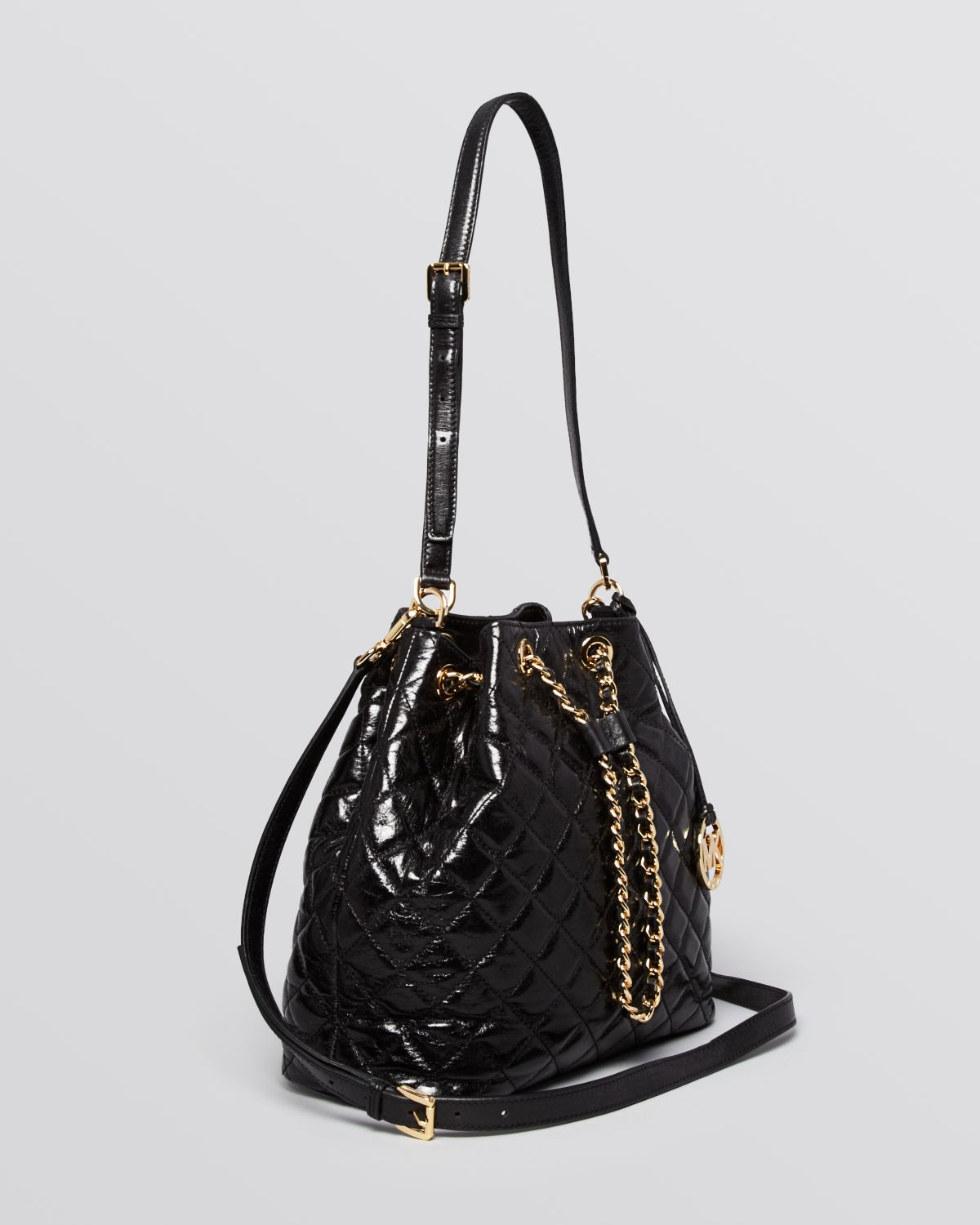 Michael michael kors Shoulder Bag - Susannah Large Quilted Bucket ...