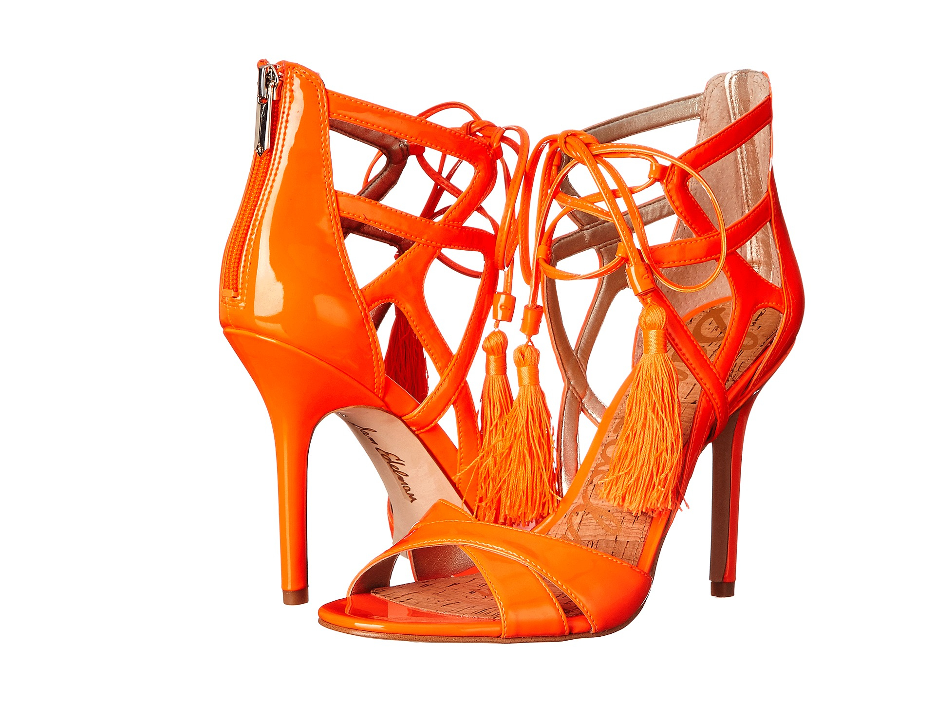 e633889d69d2c6 Lyst - Sam Edelman Azela in Orange