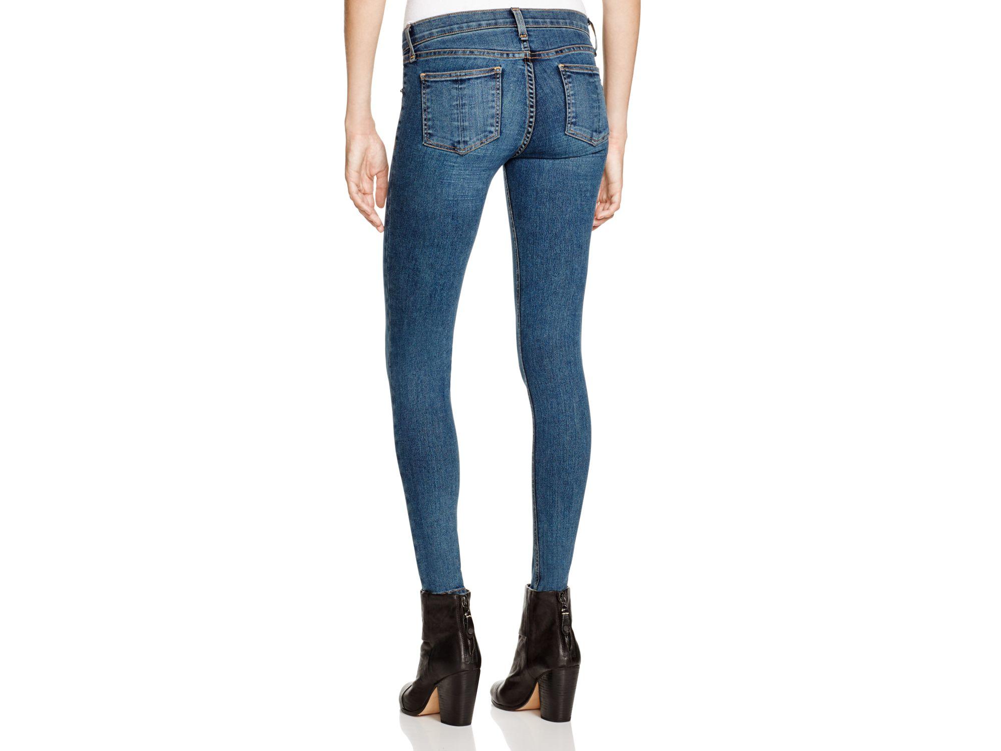 skinny denim jeans - Blue Rag & Bone Sale Low Cost 8bNbxHepiz