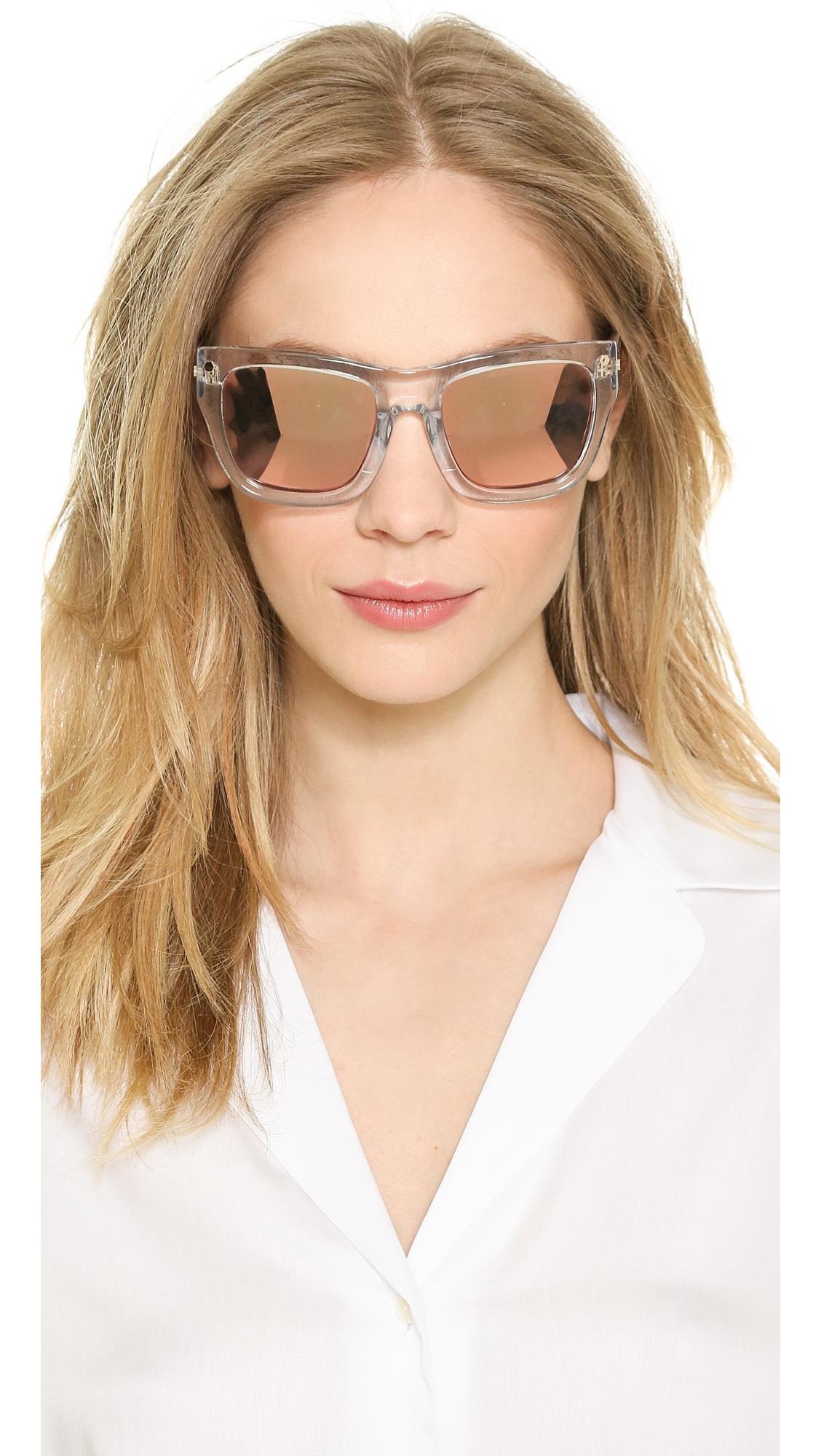 Matthew Williamson cat eye mirrored sunglasses Fake Buy Cheap Low Price i5nGxh