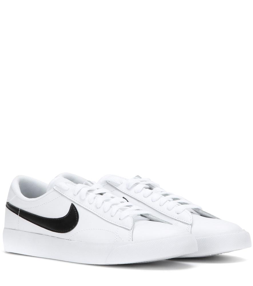 sneakers wit lederen Tennis Nike Lyst het Classic in Sx7ZfnIqwn