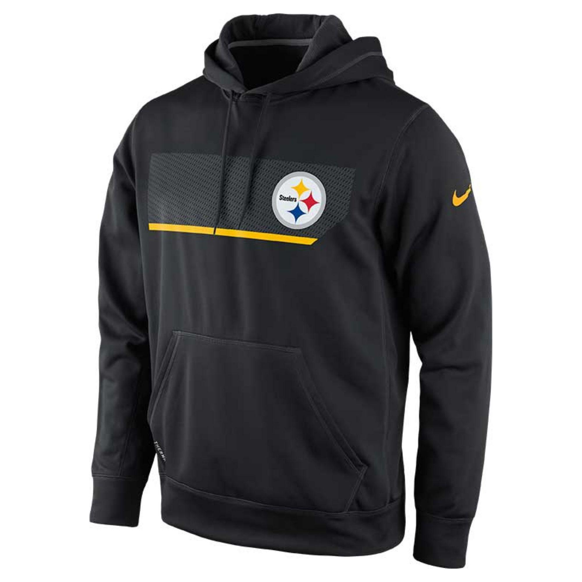 df82d3c6 Lyst - Nike Mens Pittsburgh Steelers Performance Hoodie Sweatshirt ...