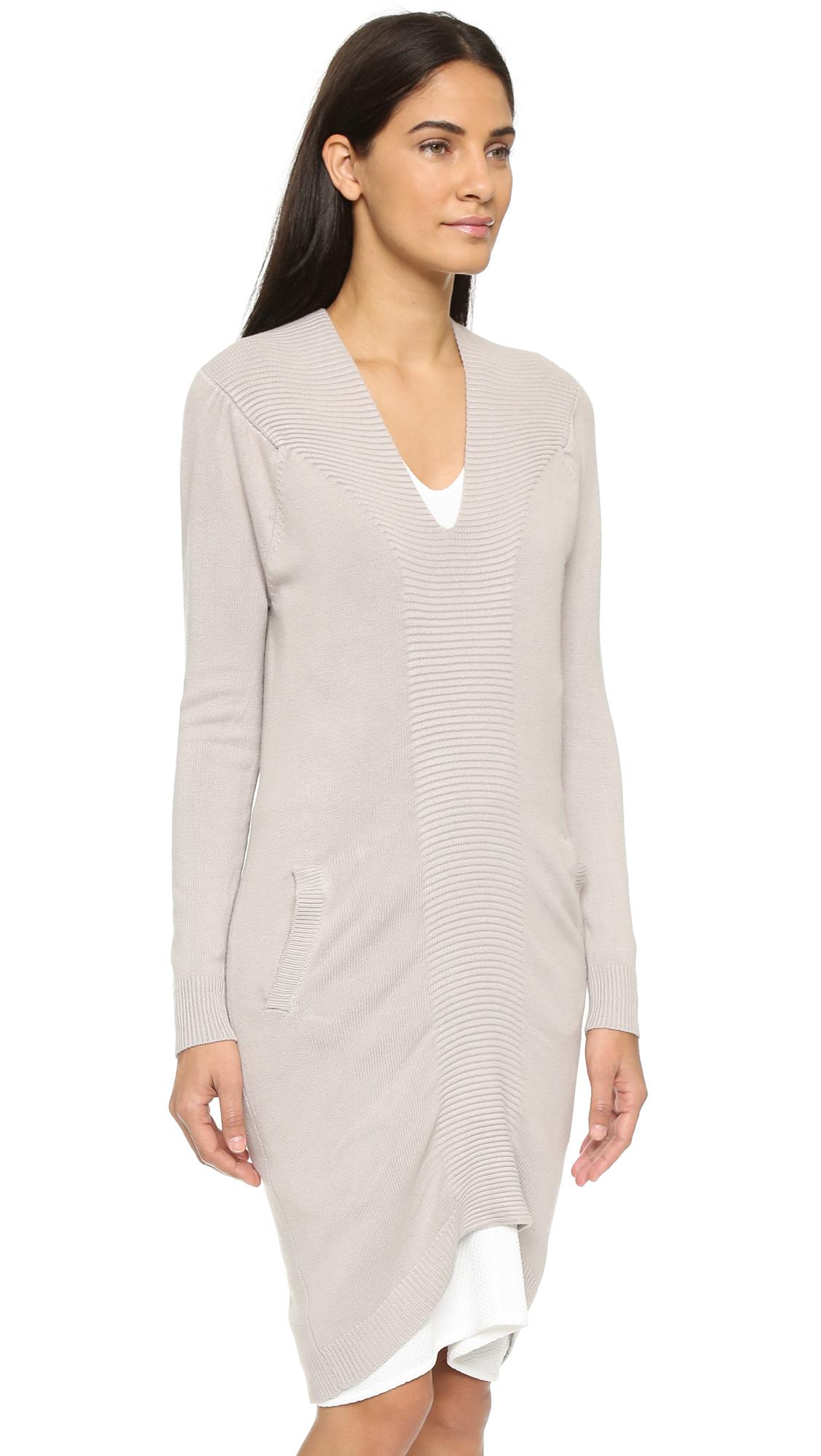Lyst - Zero + Maria Cornejo Quinn Sweater Dress