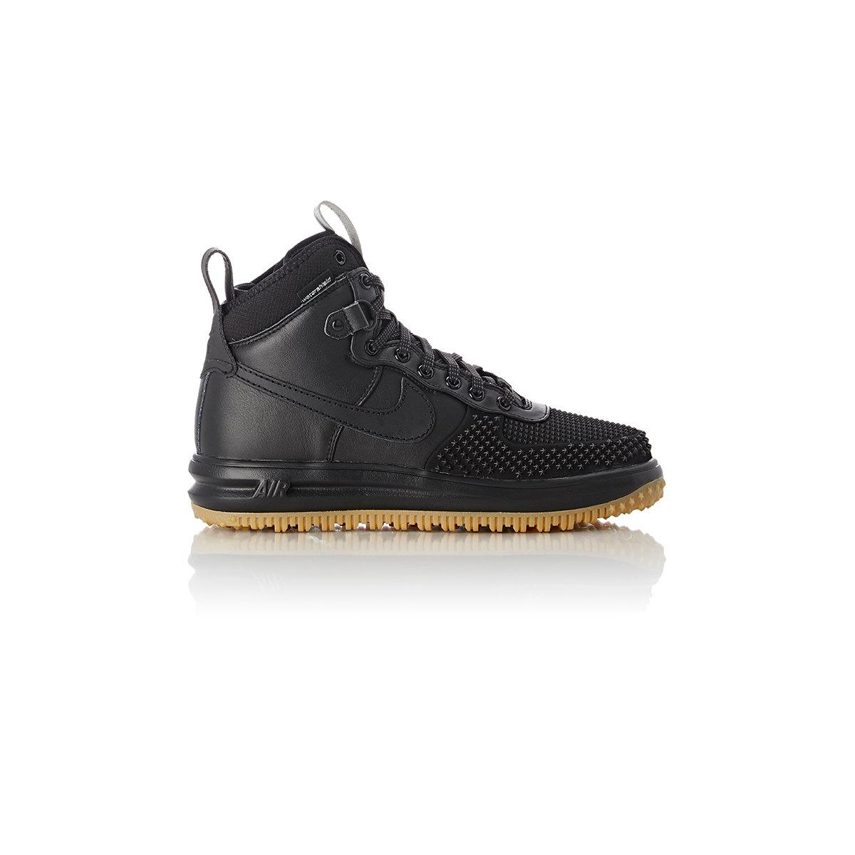 Nike Men S Lunar Force 1 Duckboots In Black For Men Lyst