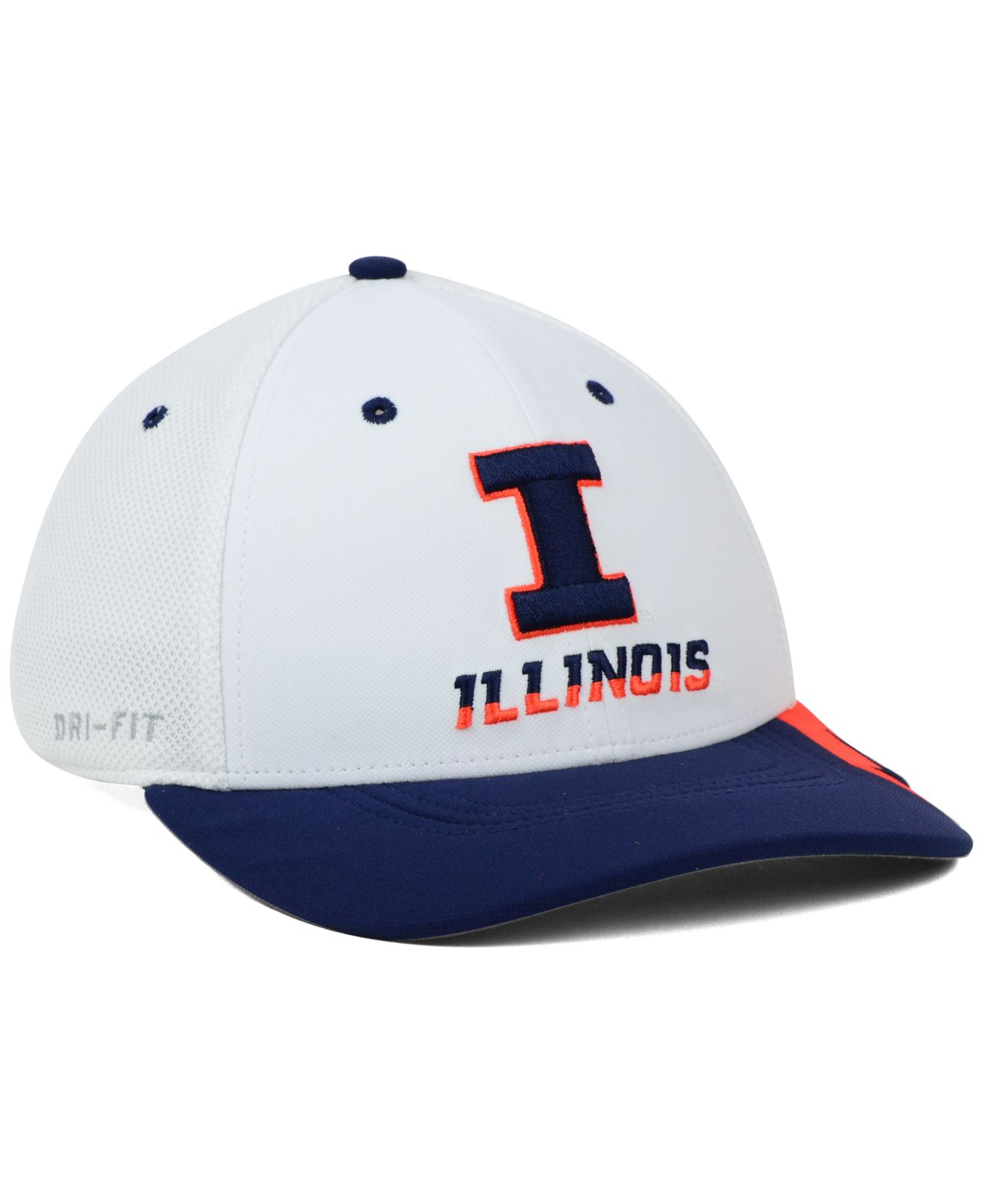 purchase cheap e5e03 1d22c ... best price lyst nike illinois fighting illini conference swf cap in  blue for men 429f0 d059e