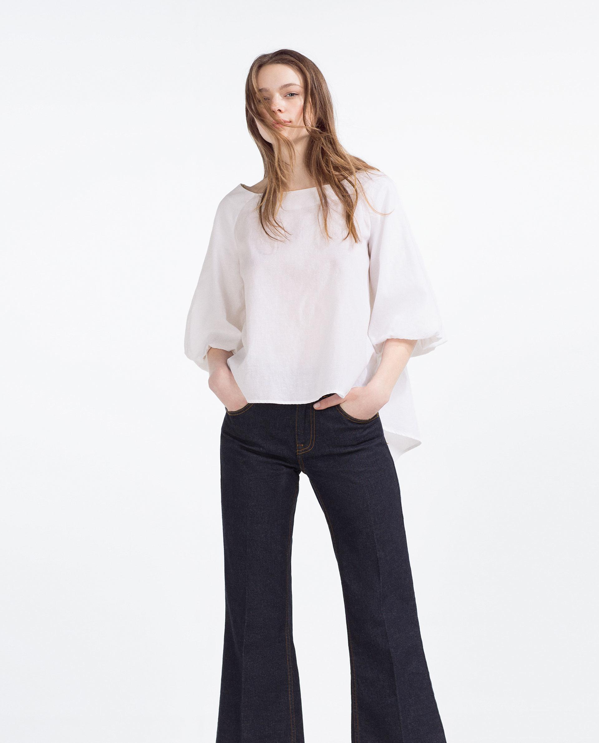Zara White Blouse 11