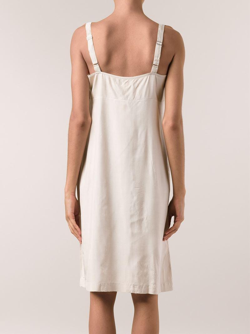 16f4e967b610 Dosa Slip Dress in Natural - Lyst