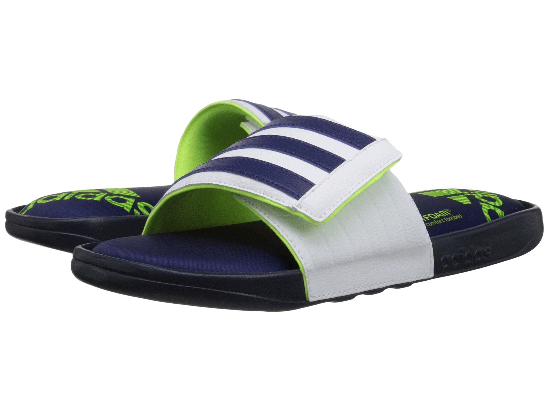 00ef15e62bbb Lyst - adidas Adissage Comfort Ff in White for Men