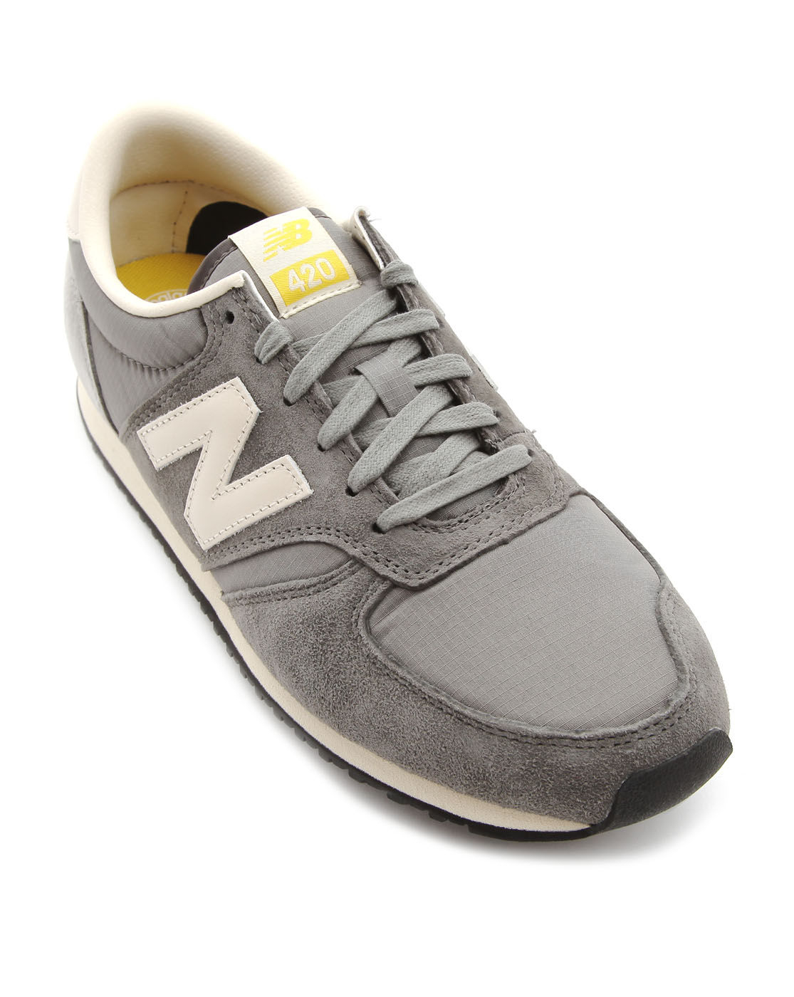 new balance 420 grey sneakers in gray for men grey lyst. Black Bedroom Furniture Sets. Home Design Ideas
