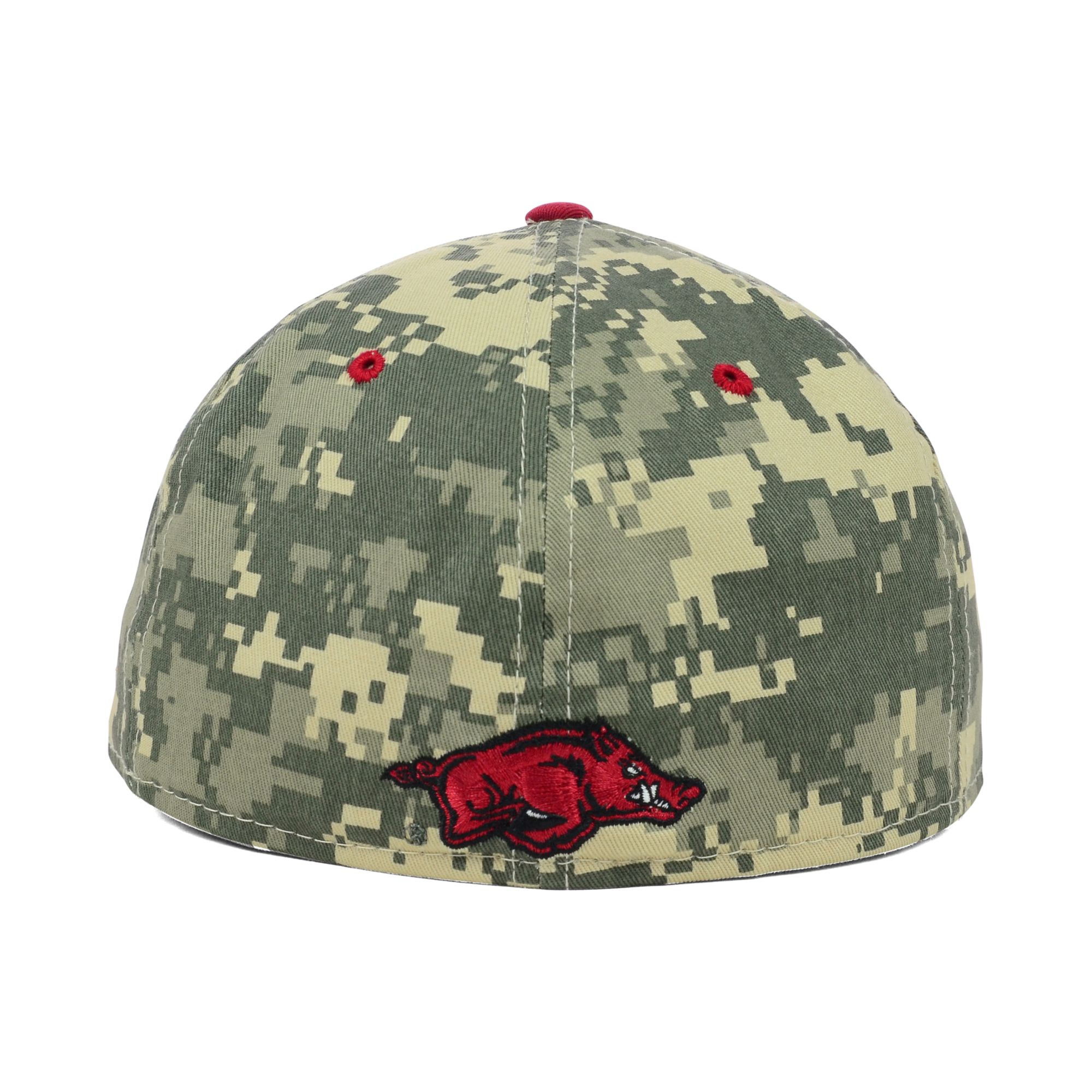8d5a0676a56a7 czech arkansas razorback hat f39c0 d9f8d  inexpensive lyst nike arkansas  razorbacks ncaa authentic vapor fitted cap in 1d6bf a63e0