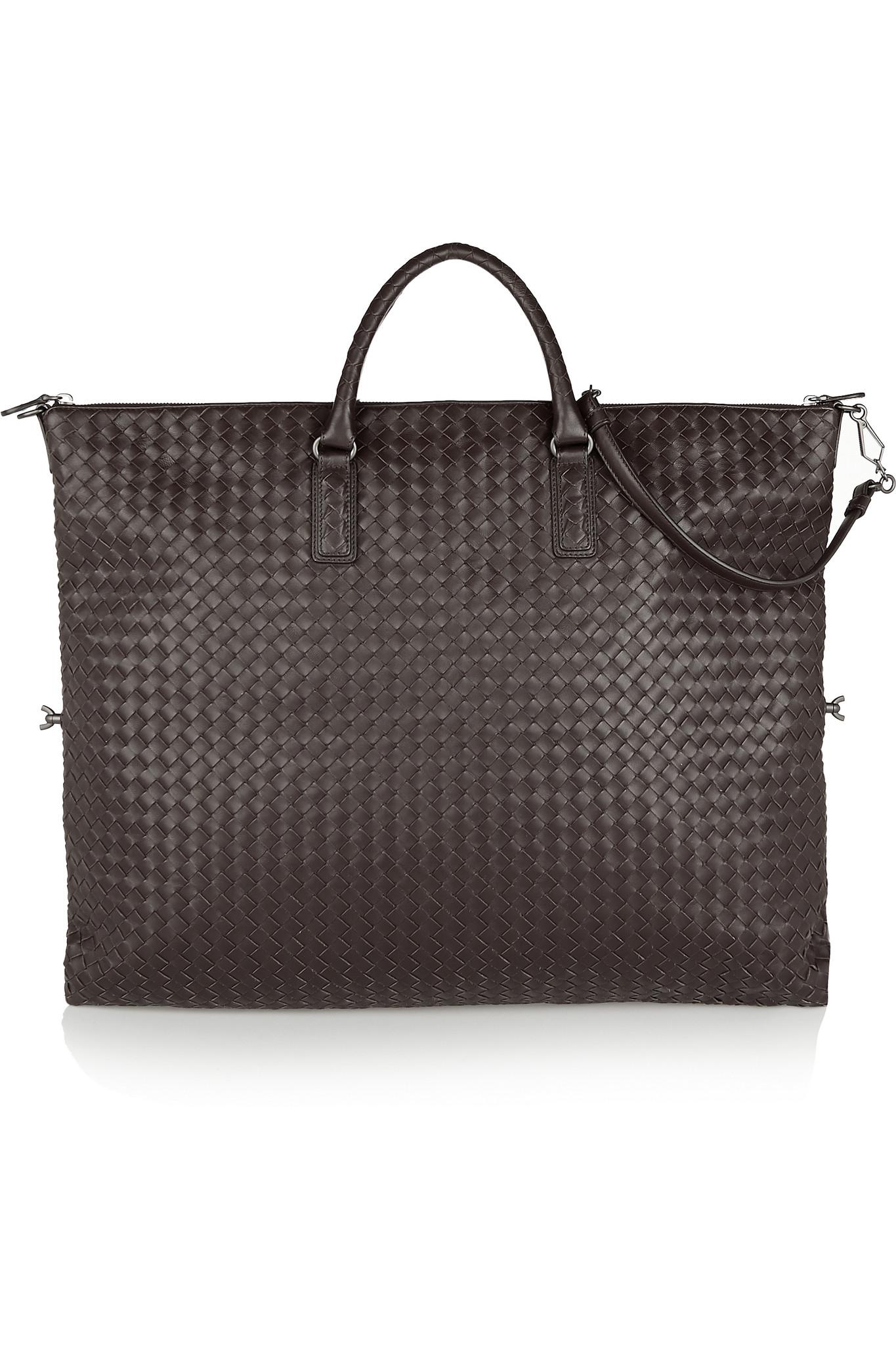 Bottega veneta Convertible Large Intrecciato Leather Tote in Brown . 5e1312a29c1b8